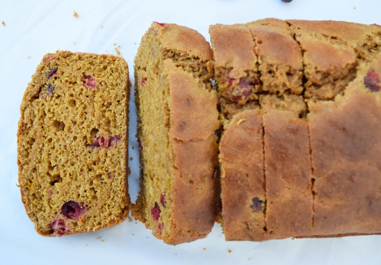 Cranberry Orange Bread Blog 1