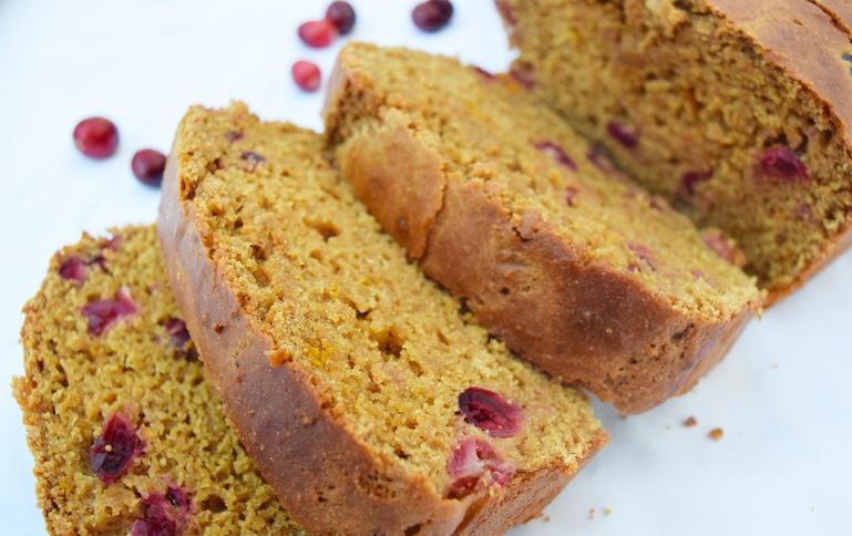 Cranberry Orange Bread Blog 3